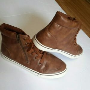 Brown shoes for kids size 5